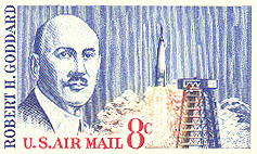Image of Postage Stamp honoring Goddard